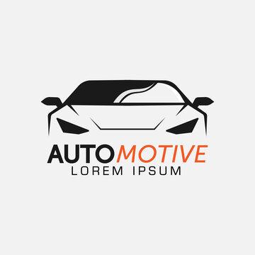 automotive car logo design vector template icon