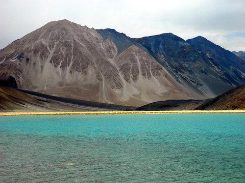 Pangong Tso, Pangong Lake, Ladakh India, Leh . High quality photo