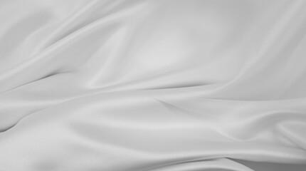 White silk fabric lines