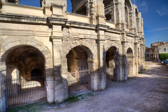 The Roman amphitheatre of Arles, France
