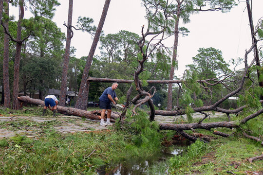 Hurricane Sally impact in Alabama