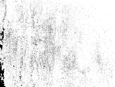 Ink Splash Background . Black Paint Splattered Shape . Grunge texture vector