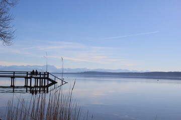 Lake Ammersee Bavaria