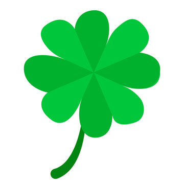 Green simple clover.