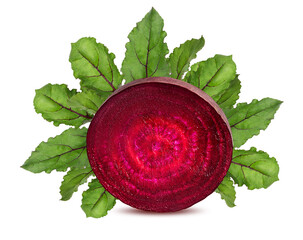 Fototapete - Beetroot isolated on white background