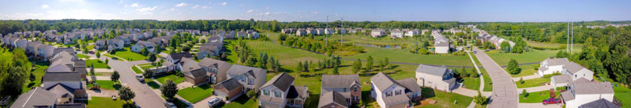 Neighborhood Aerial Panorama