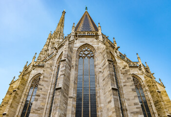 St. Stephen's Cathedral (more commonly known by its German title: Stephansdom), the mother church of the Roman Catholic Archdiocese of Vienna and the seat of the Archbishop of Vienna.