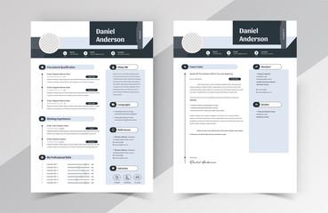 Modern Creative Resume Cv Template