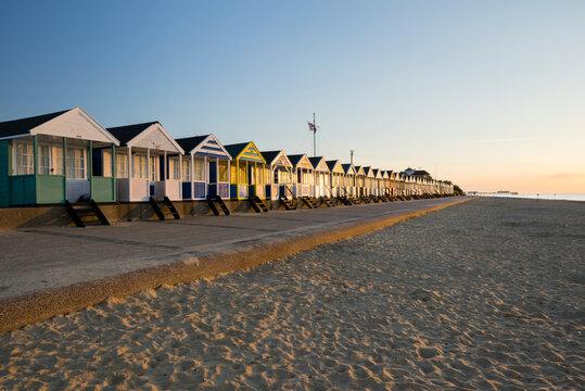 Southwold Beach, Southwold, Suffolk, England, UK