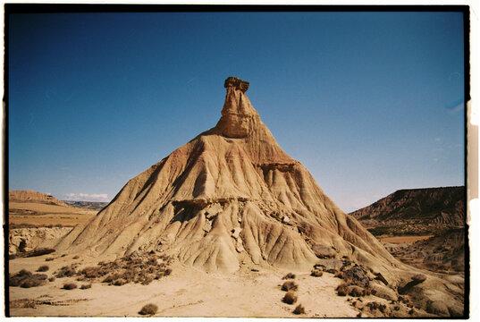 mountain desert analogic photography