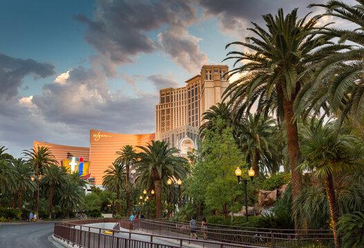 LAS VEGAS - JULY 13: Wynn Las Vegas Resort and Country Club located on the Las Vegas Strip on April 2, 2009 in Las Vegas. Wynn opened on April 28, 2005 and cost US$2.7 billion to build.