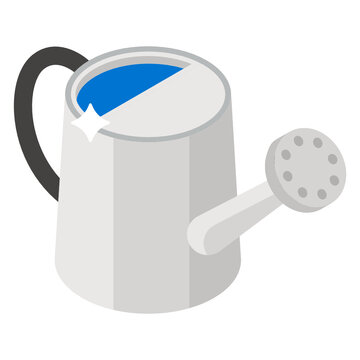 Watering can icon isometric design