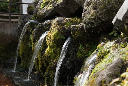 京極ふきあげ公園の水汲み場