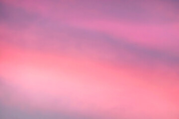 Blue violet Twilight Sky Sunset Background.