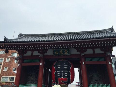 Senso-ji of buddhist temple located in Asakusa, Tokyo, Japan