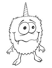Silly Monster Vector illustration Art
