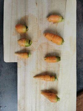 Bébés carottes