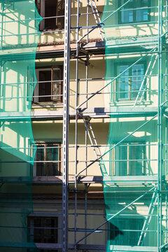 building facade renovation, house reconstruction