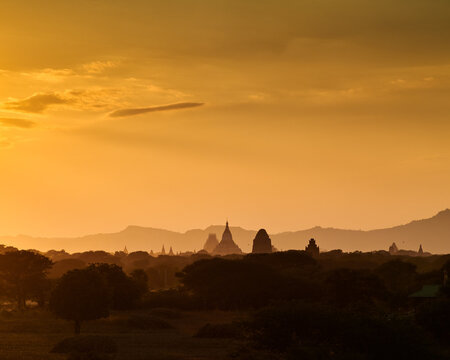 Bagan is an ancient city and a UNESCO World Heritage Site located in the Mandalay Region of Myanmar. From the 9th to 13th centuries, the city was the capital of the Pagan Kingdom, the first kingdom th