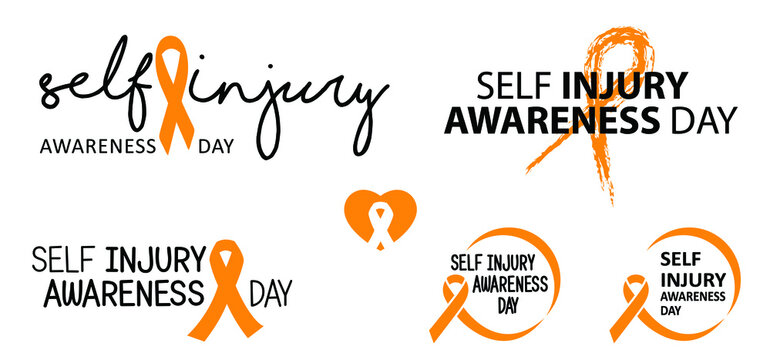 World cancer day or hope Orange ribbon awareness month symbol of leukemia, animal abuse cancer association, multiple sclerosis RSD, hyperactivity ADHD and pain syndrome ribbons World Kidney Day, march