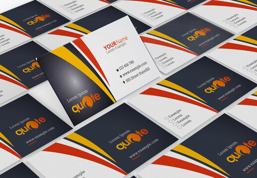 Pro Brand Business Card
