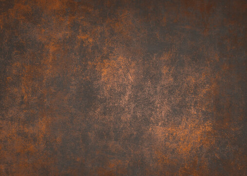 Old rusty concrete metal texture background, Vintage grunge metal backdrop For aesthetic creative design