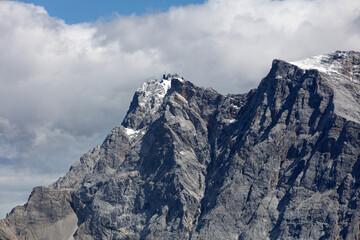 Zugspitze Mountain from Lermoos. Tyrol. Austria