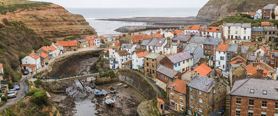 Cluster of houses in Staithes