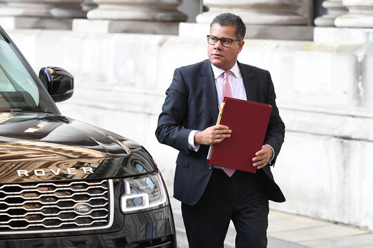 Weekly government cabinet meeting in London