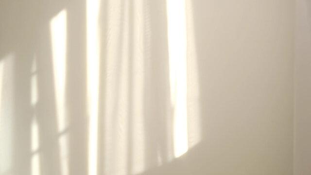 Morning sun lighting the room, shadow background overlays
