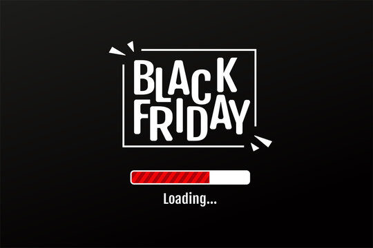 The download bar counts the days of the BlackFriday sale promotion period.