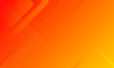 dynamic orange background gradient, abstract creative scratch digital background, modern landing page concept vector, with line and square shape.