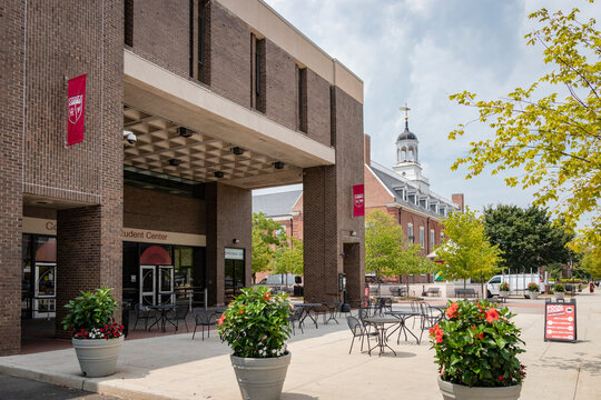 College Avenue Student Center, on the campus of Rutgers University