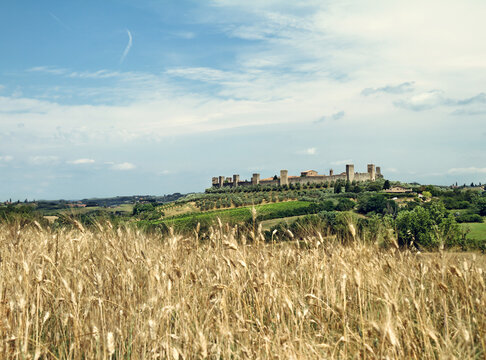 Fortress in the tuscany