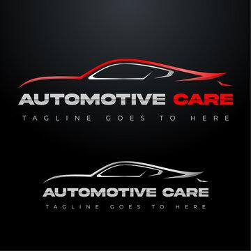 Car logo, automobile logo, automotive logo. Sports vehicle vector illustration, sports vehicle icon.