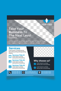 Corporate Business Flyer Template V59