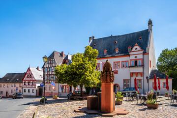 Markt, Kiedrich, Rheingau, Deutschland