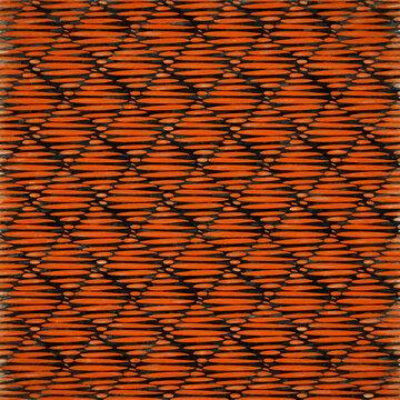 Abstract Autumn Orange Triangular Paper Style Background