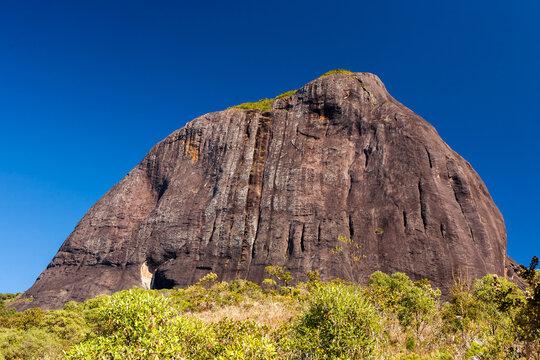 Rocky mountain in Brazil - Pico do Papagaio