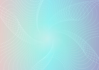 幾何学模様の立体的な背景02