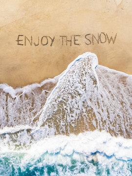 Enjoy the snow, suckers!