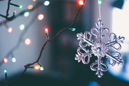 Closeup of Christmas Decoration
