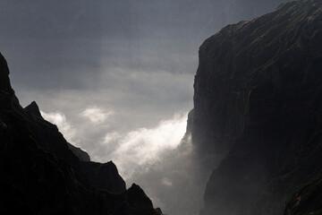 Clouds under Pico do Arieiro, Madeira