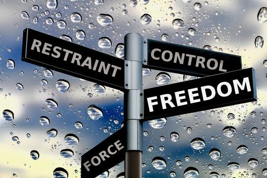 自由の標識