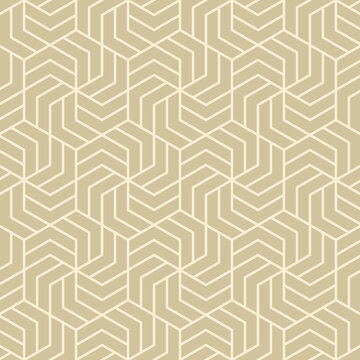 Hexagonal art deco pattern background.