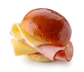 breakfast sandwich with sausage and cheese