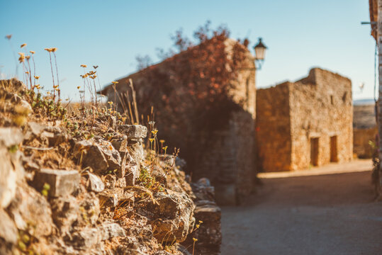 Photography of uninhabited villages in Spain