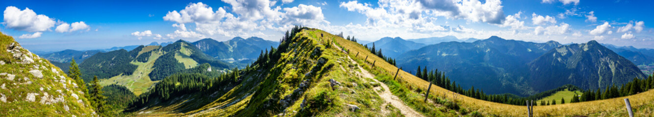 view at the Bodenschneid mountain - Bavaria - Spitzingsee