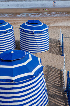 famous beach tent of cabourg