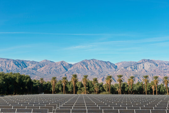 Solar Farm at Death Valley